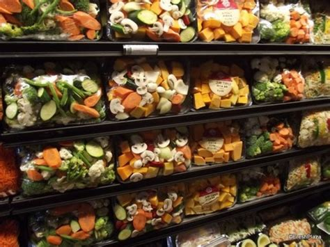 fresh cut fruits and vegetables a real market feel at food lovers market