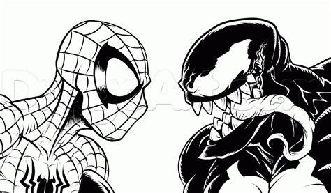 free printable venom coloring pages venom printable coloring pages bestofcoloring com
