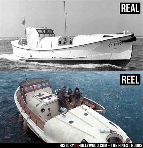 coast guard rescue boat 36500 the finest hours vs true story of bernie webber