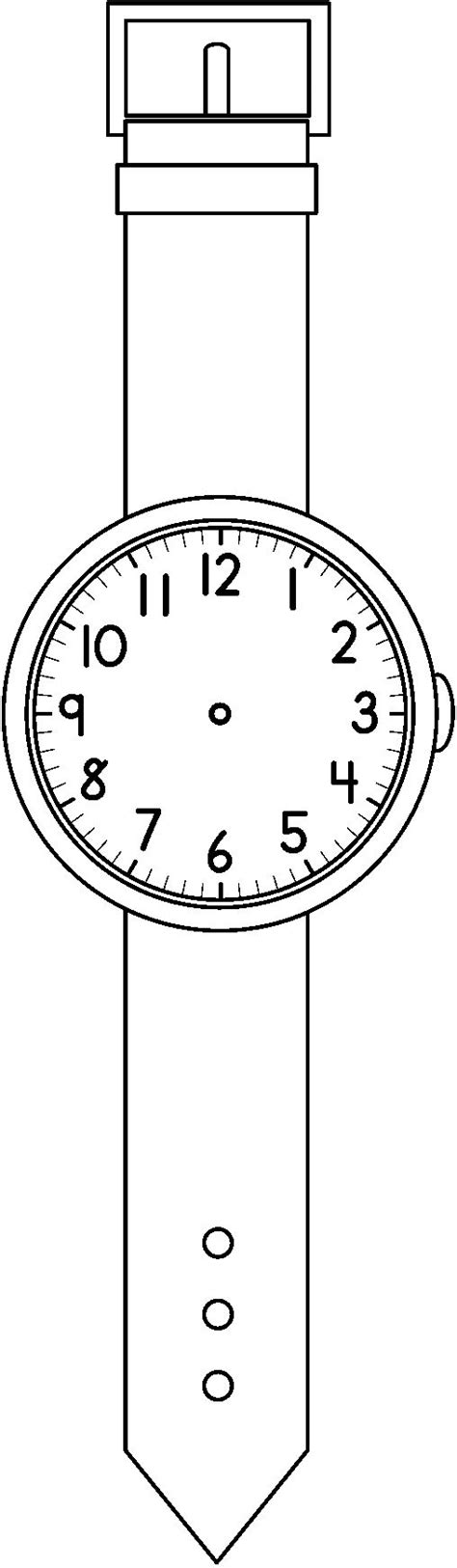 printable paper watches 205 best images about időm 233 r 233 s time on pinterest free