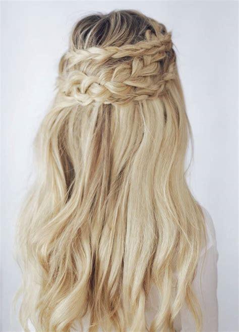 Bridal Hairstyles Half Up Braid by 15 Pretty Braided Bridal Hairstyles Aisle