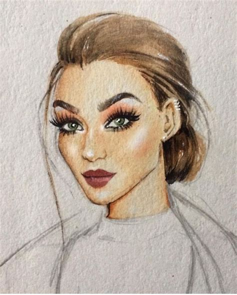 Sketches Faces by Best 25 Fashion Illustration Ideas On