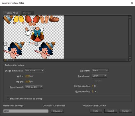 construct 2 sprite sheet tutorial export animations for mobile apps and game engines