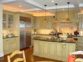 custom designed kitchen island with pendant lights bring classic lighting over dream kitchens above