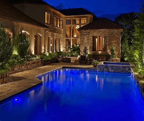 Landscape Lighting Around Pool 3 Reasons To Fall In With Outdoor Lighting