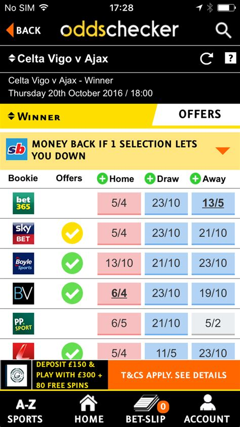 best odds oddschecker app best sports betting odds for ios android
