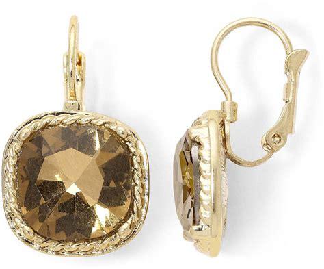 jcpenney monet jewelry monet silver tone drop