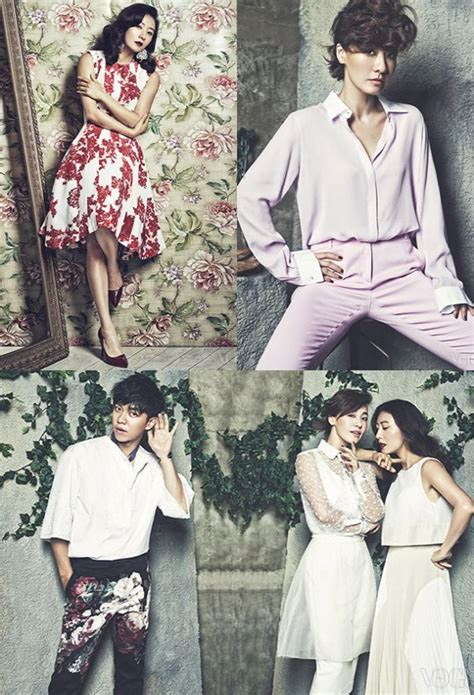 lee seung gi noona over flowers quot nunas over flowers quot cast rocks the floral in vogue soompi