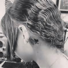 tattoo behind deaf ear tattoo board on pinterest dr woo geometric tattoos and