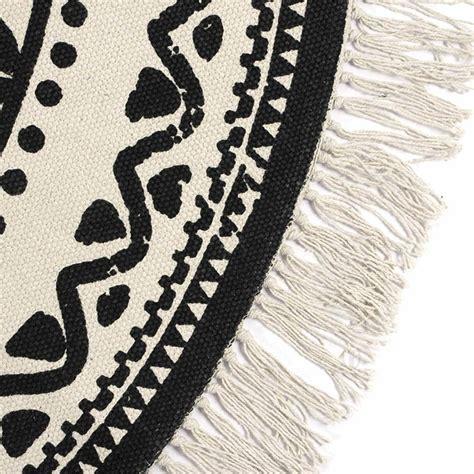 teppich rund muster teppich vintage ethno muster c 216 120 cm grau naturwei 223
