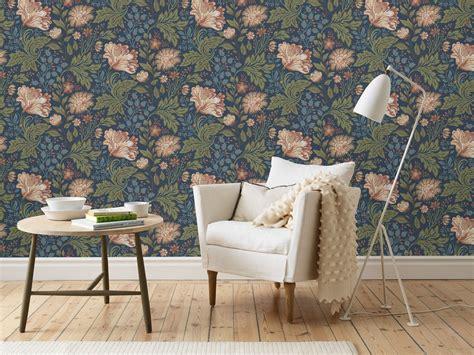 Tapisserie Fleurie by Papier Peint Fleuri Le Retour Du Flower Power Joli Place