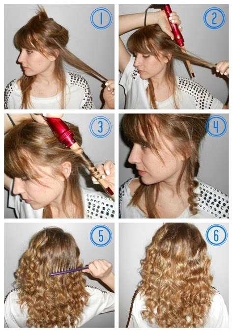 hairstyles using curling wand 52 best curling wand curls images on pinterest curling
