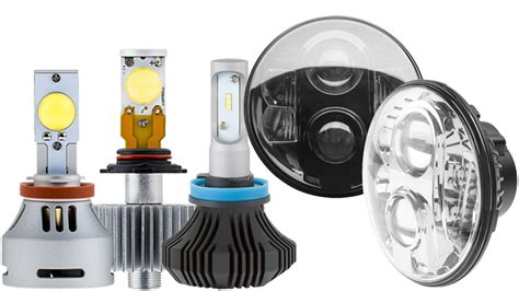 Led Automotive Lights by Led Headlight Kit H9 H11 Led Fanless Headlight Conversion Kit With Compact Heat Sink Led