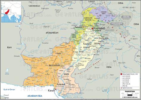 Geoatlas   Countries   Pakistan   Map City Illustrator