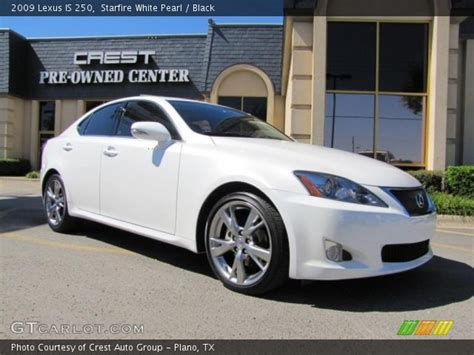 white lexus 2009 2009 lexus is 250 white