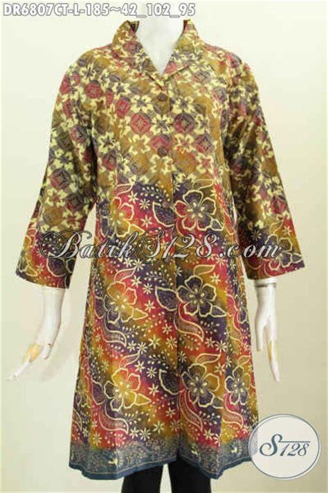 Baju Untuk Kerja Kantoran dress batik wanita kerah langsung ukuran l baju batik wanita kerja kantoran untuk penilan