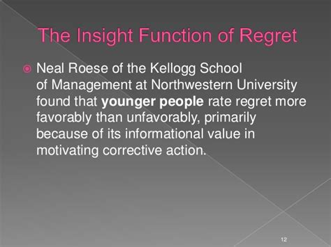 Kellogg Mba Values by The Utility Of Regret In Psychodynamic Psychotherapy