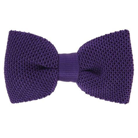 knitted silk bow tie violet knitted silk bow tie monza the house of ties