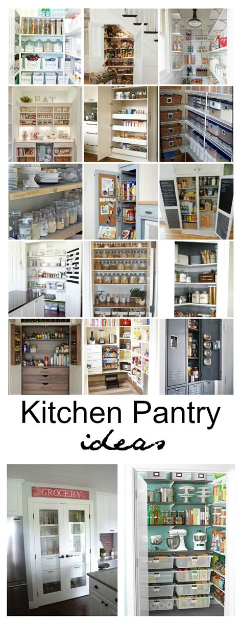 kitchen pantry idea 20 kitchen pantry ideas to organize your pantry