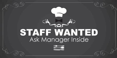 staff wanted template staff wanted banner template sign4x