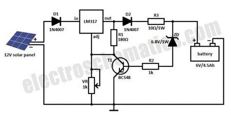transistor d882 diagrama circuito de carregador solar de baterias