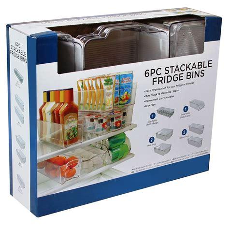 Kitchen Storage Bins by Daily Chef Fridge Stackable Bins Kitchen Storage Bins