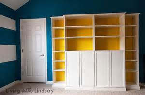 Billy Bookcases With Doors How To Use A Quot Built In Quot Billy Bookcase To Hide An Eyesore