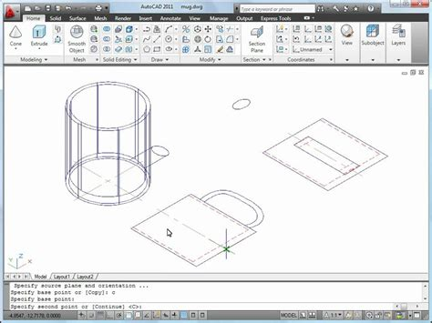 draw 3d online autocad 2011 tutorial how to convert 2d to 3d objects