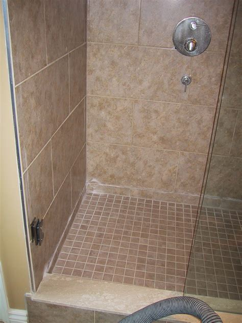 bathroom shower stall tile designs tile designs in walk in showers studio design gallery best design
