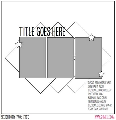 layout template cache enabled false layout sketches and scrapbooking on pinterest