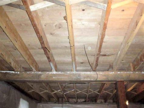 Insulate Basement Ceiling Between Joists by Mainpage Sjoko
