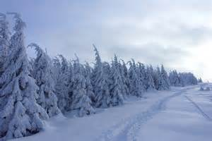 winter landscapes brocken winter landscape photos diagrams topos