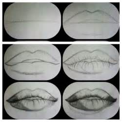 how to draw realistic lips artwork pinterest draw