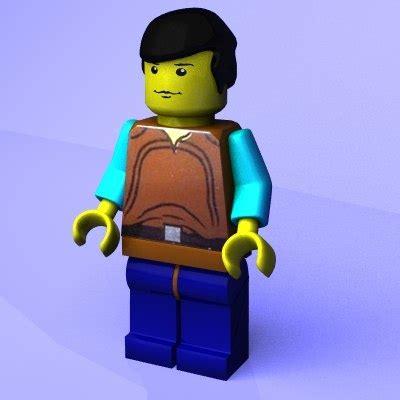 figure 3d model free free brick figure 3d model
