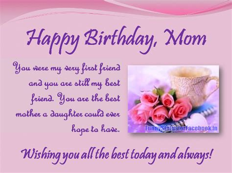 Birthday Quotes For Someone Who Has Away Happy Birthday Quotes For My Mom Who Passed Away Image