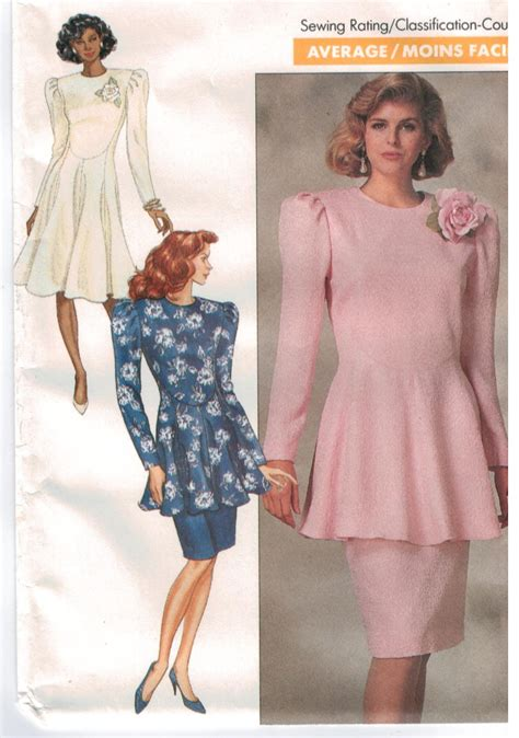 design a dress pattern butterick pattern 6936 richard warren designer dress top