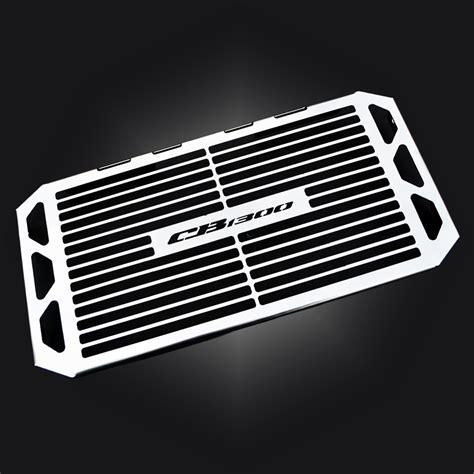 Cover Radiator Stainless Vixion honda cb 1300 cb1300 stainless steel radiator cover guard grill ebay