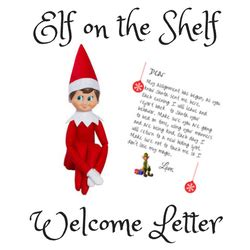 Welcome Letter From On The Shelf Printable by Free On The Shelf Welcome Letter Printable Simple