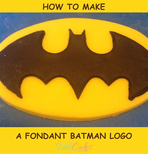 batman logo cake template how to make a fondant batman logo for your cakes and