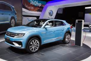 Toyota Electric Car Suv Volkswagen Cross Coupe In Hybrid Concept Mid Size