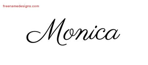 monica archives free name designs