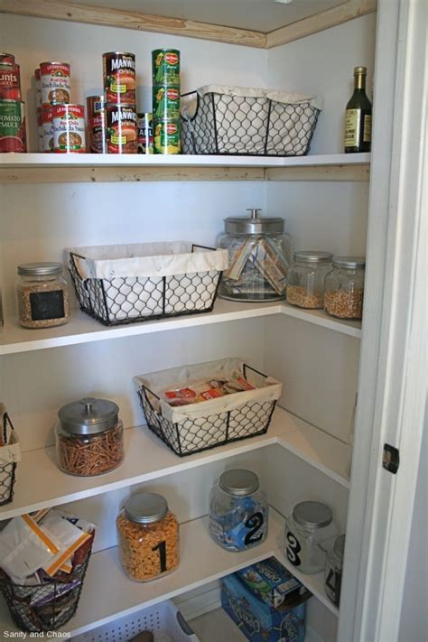 diy pantry shelves white butterfly kitchen do