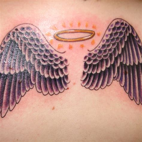 tattoo angel halo 25 extraordinary angel tattoos for women creativefan