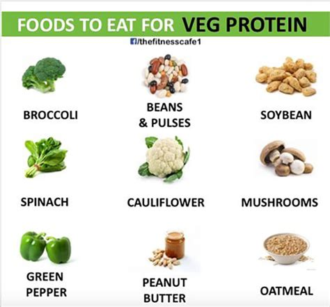 vegetables protein amount 10 healthy foods you should be bro