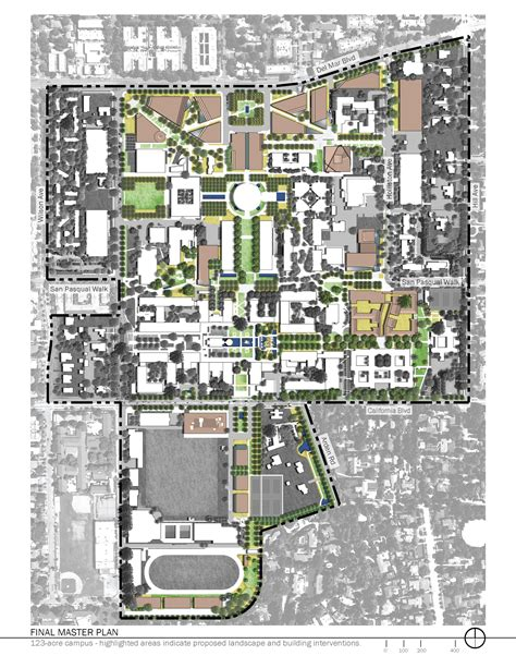 Ucla Floor Plans by Asla 2010 Professional Awards California Institute Of