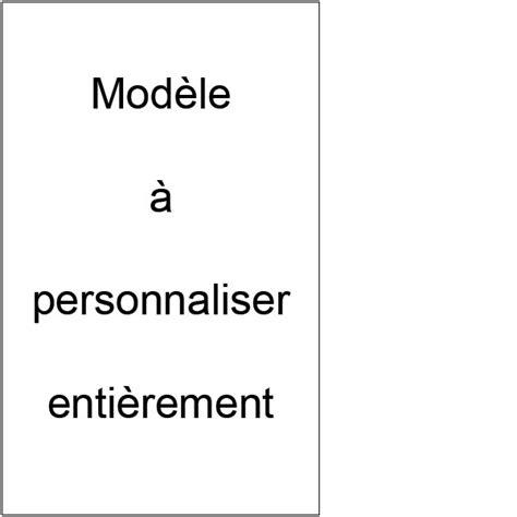 Modele Etiquette