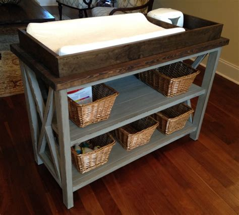 baby changing table woodworking plans