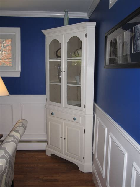 room corner white corner hutch for dining room trends also furniture