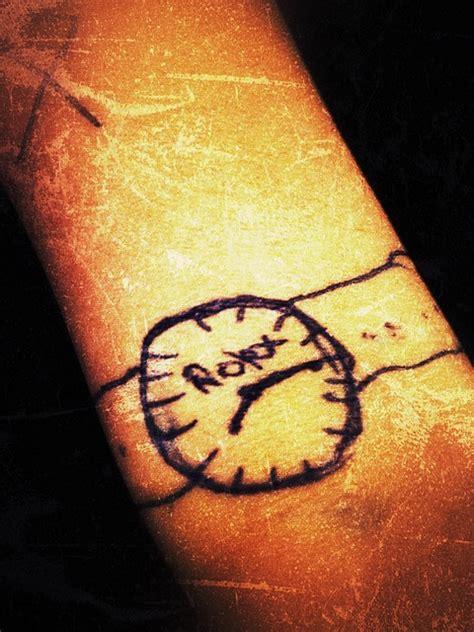 tattoo wrist watch free photo watch tattoo wrist watch free image on