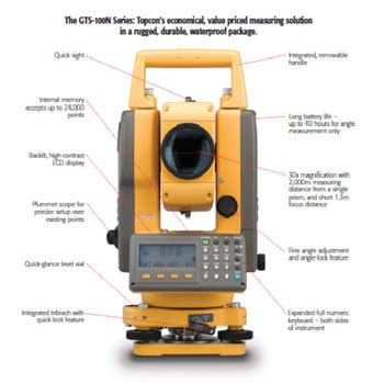 Total Station Topcon Es105 topcon total station machine gts 102n buy total station